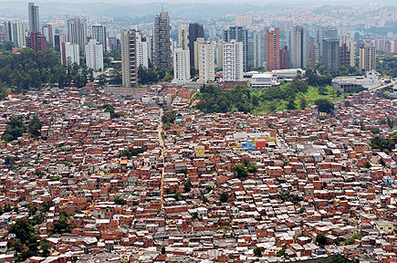 Favela Morumbi Sao-Paulo (bron: )
